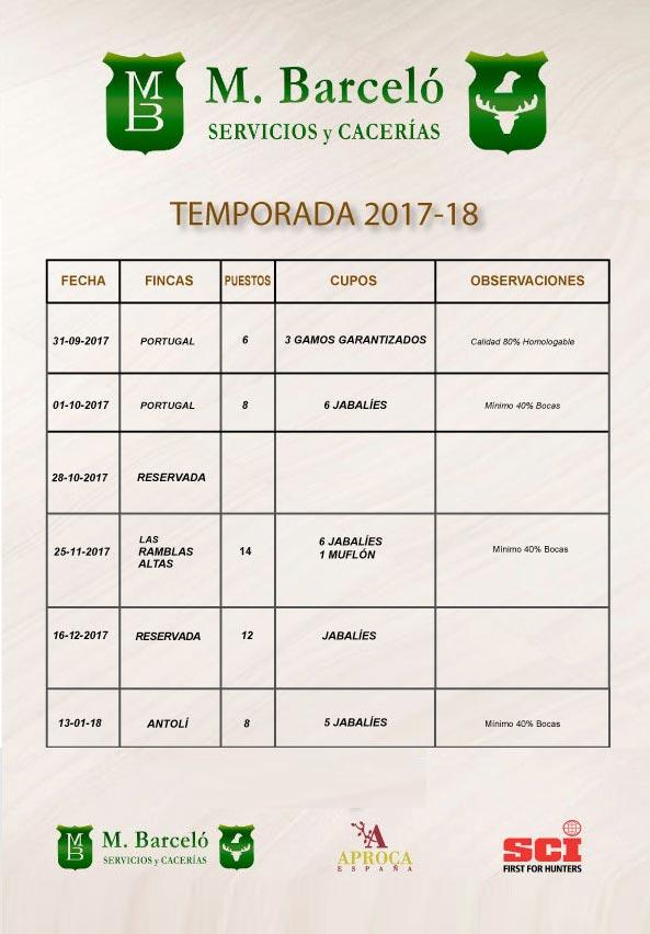 Calendario Mariano.Calendario De Monterias Barcelo